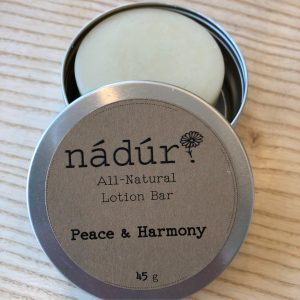nadur lotion bar jarful refillery