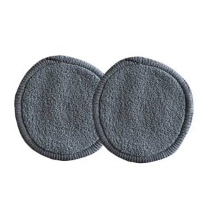 zefiro charcoal make up remover pads jarful refillery